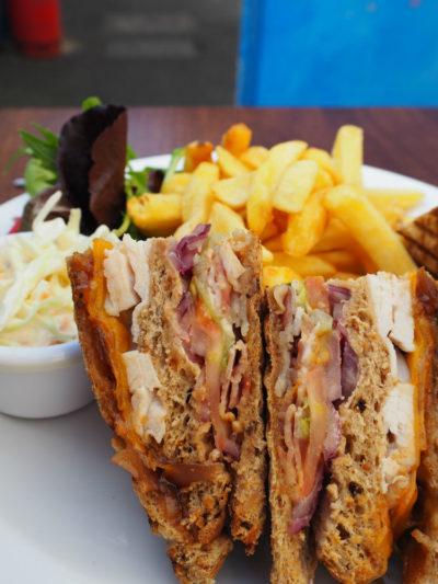 café Haven sandwich photography by Zonua